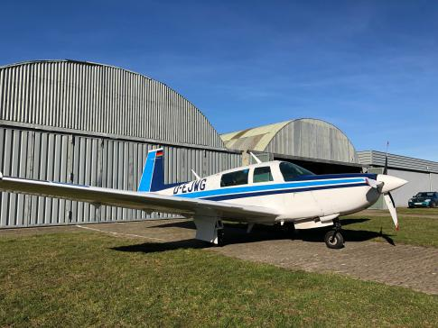 Off Market Aircraft in Hamburg: 1980 Mooney M20K - 1