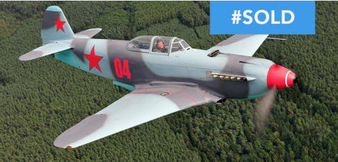 Aircraft for Sale in Germany (EDAH): 1943 Yakovlev YAK-9UM