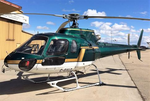 Off Market Aircraft in Alberta: 1989 Eurocopter AS 350B2 - 3