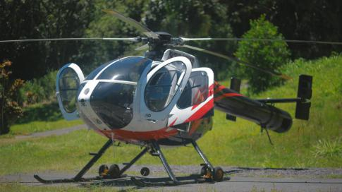 Off Market Aircraft in USA: 1993 MD Helicopters 520N - 2