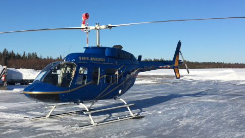Aircraft for Sale in Sweden (ESSN): 1980 Bell 206L1 LongRanger II