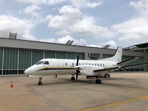 Aircraft for ACMI Lease/ Wet Lease/ Charter in Odessa, Ukraine (UKOO): 1991 Saab 340B