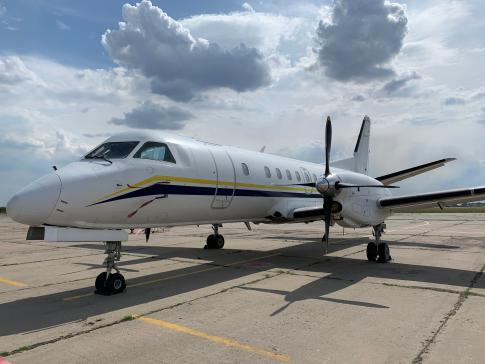 Aircraft for ACMI Lease/Wet Lease/Charter in Ukraine: 1991 Saab 340B - 2