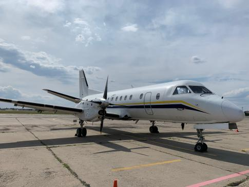 Aircraft for ACMI Lease/Wet Lease/Charter in Ukraine: 1991 Saab 340B - 3