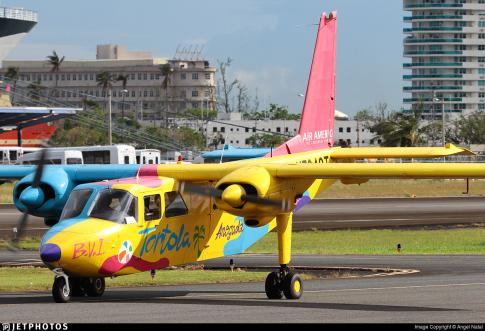 Aircraft for Sale/ Lease in San Juan, Puerto Rico: 1971 Britten Norman BN2A-21 Islander