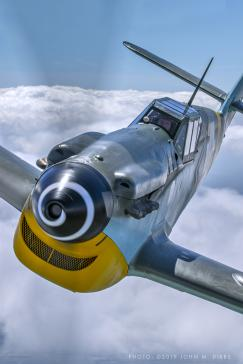 Off Market Aircraft in UK: 1957 Messerschmitt Bf 109-G - 2