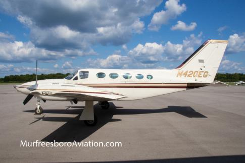 Off Market Aircraft in Tennessee: 1982 Cessna 421C - 1