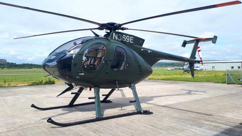 Off Market Aircraft in UK: 1991 McDonnell Douglas MD-500E - 3