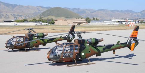 Aircraft for Sale in San Luis Obispo, California, United States (KSBP): 1976 Eurocopter SA 341 Gazelle