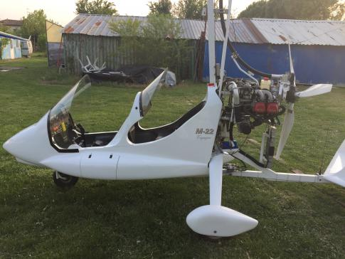 Aircraft for Sale in Ravenna, Italy: 2007 Magni Gyro M22 Voyager