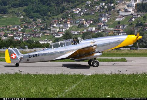 Aircraft for Sale in Switzerland: 1943 Farner-Werke FW C-3605 - 3