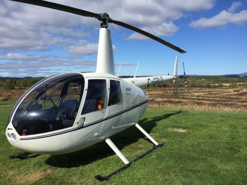 Off Market Aircraft in Quebec: 2012 Robinson R-44 - 2