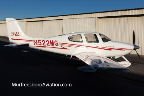 Off Market Aircraft in Tennessee: 2003 Cirrus SR-22 - 2