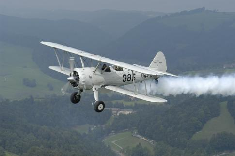 Aircraft for Sale in Switzerland: 1940 Stearman PT-13D