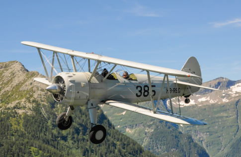 Aircraft for Sale in Switzerland: 1940 Stearman PT-13D/N2S-5 - 2