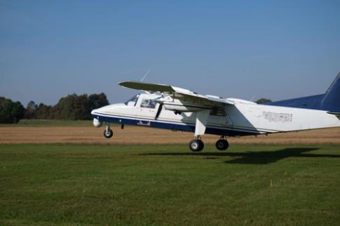 Off Market Aircraft in Latvia: 2003 Britten Norman Defender - 2