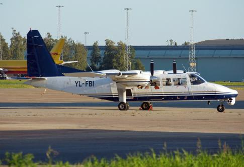 Off Market Aircraft in Latvia: 2003 Britten Norman Defender - 1
