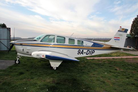 Aircraft for Sale in Vinkovci, Croatia (LDOV): 1980 Beech A36TC Bonanza