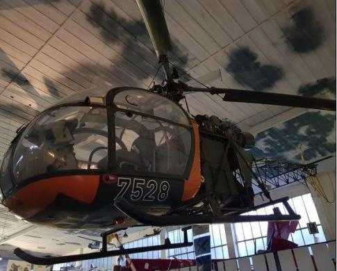 Off Market Aircraft in Germany: 1970 Eurocopter Alouette II - 2