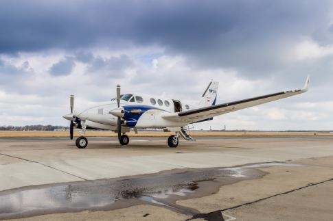 Off Market Aircraft in Poland: 2011 Beech C90GTx - 1