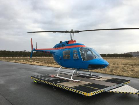 Aircraft for Sale in Sweden (ESSN): 1975 Bell 206B JetRanger II