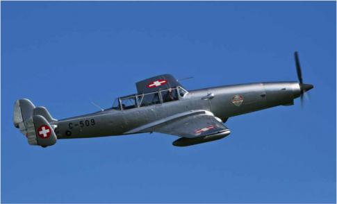 Aircraft for Sale in Switzerland: 1943 Farner-Werke FW C-3605