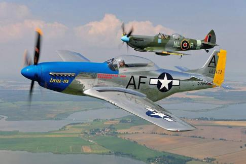 Off Market Aircraft in Germany: 1944 North American TF-51D - 2