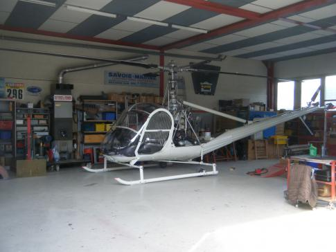 Aircraft for Sale in HAUTE-SAVOIE: 1954 Hiller UH-12B - 1