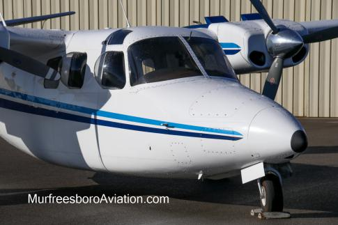 Off Market Aircraft in Tennessee: 1969 Aero Commander 500S - 2