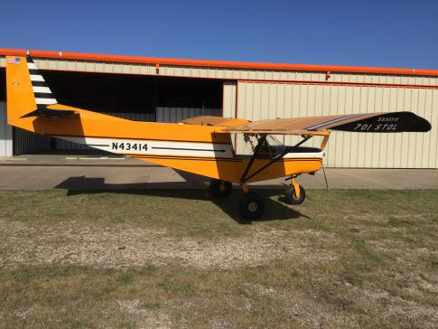 Aircraft for Sale in Palmer,Tx, Texas, United States: 2005 Zenair CH-701 STOL Zenith