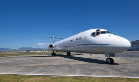 Off Market Aircraft in British Columbia: 1989 McDonnell Douglas MD-80-87 - 1