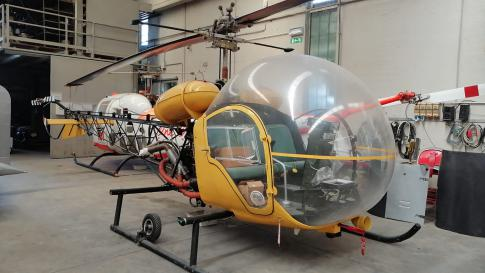 Aircraft for Sale in Italy: 1900 Bell 47J-3